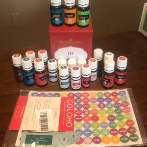 Young living Essential oil and diffuser bundle